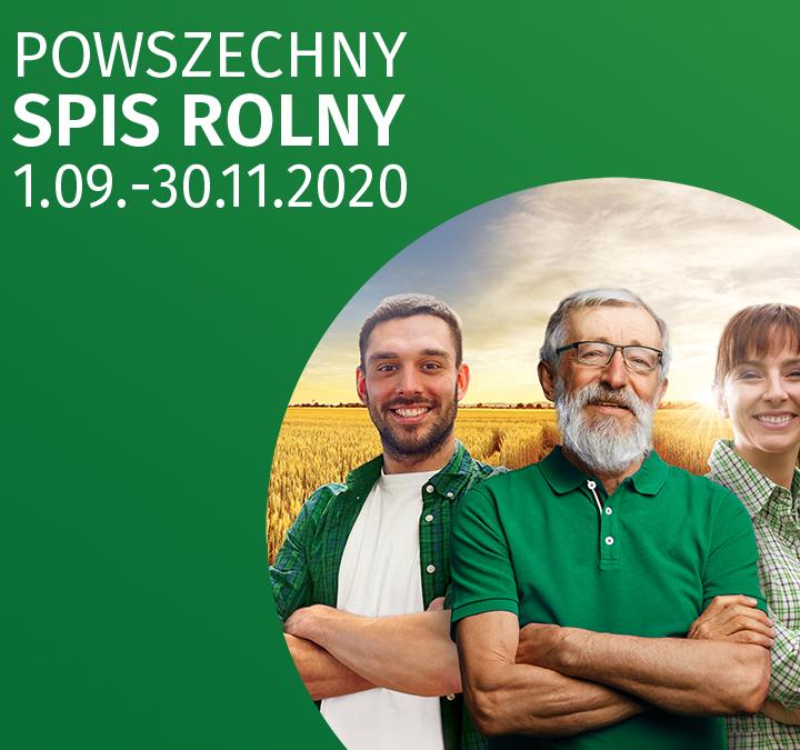 Liczy się rolnicwo – Trwa powszechny spis rolny 2020
