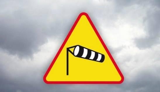 Ostrzeżenie meteorologiczne – silny wiatr !